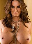 Petra Verkaik shows off her huge breasts