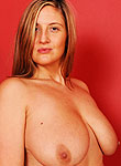 Big breasted hottie Jenny Badeau shows her lovely boobs