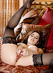 Taylor Vixen pretty sexy babe gets naughty in her hot lusty lingerie