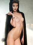 Roos van Montfort shows off her perky tits
